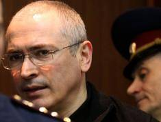 (FILES) A file picture taken on May 17, 2011, shows Russian ex-oil tycoon Mikhail Khodorkovsky arriving at the courtroom in Moscow. All cinema houses in the Russian capital, but one on the city?s outskirts, have refused to screen the contentious documentary about the jailed former oil tycoon, Russian media reported. AFP PHOTO / ALEXEY SAZONOV (Photo credit should read Alexey SAZONOV/AFP/Getty Images)