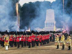 Parada wojskowa Royal Marines Beating Retreat