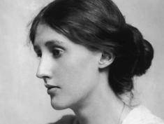 Virginia Woolf w the National Portrait Gallery