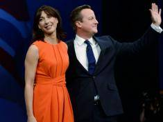 David i Samantha Cameron