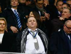 Mike Ashley, właściciel drużyny Newcastle. Fot. Getty