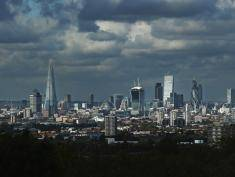 LONDON, ENGLAND - OCTOBER 24:  A general view of the London Skyline on October 24, 2013 in London, England. In exclusive findings published by the Guardian newspaper today, it is suggested that London's 'economic boom leaves the rest of Britain behind'.  (Photo by Dan Kitwood/Getty Images)