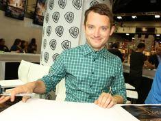 "SAN DIEGO, CA - JULY 26:  In this handout photo provided by Warner Bros, Elijah Wood of ""The Hobbit: The Battle of the Five Armies"" attends Comic-Con International 2014  on July 26, 2014  in San Diego, California. Photo by Chris Frawley/Warner Bros. Entertainment Inc. via Getty Images)"