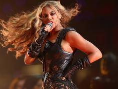 performs during the Pepsi Super Bowl XLVII Halftime Show at Mercedes-Benz Superdome on February 3, 2013 in New Orleans, Louisiana.