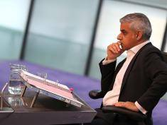 Sadiq Khan at City Hall on May 25, 2016 in London, England. The new London Mayor, elected in May, answers questions from the Assembly in public on London's economy and the EU, affordable rents and housing and FGM at his first Mayor's Question Time. The Mayor is questioned by the Assembly ten times a year to hold his administration to account.