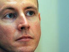 Daniel Hannan, Member of the European Parliament, representing South East England for the Conservative Party looks on during a fringe meeting on the second day of the Conservative Party Conference in Manchester, north-west England on October 6, 2009. Britain's opposition Conservatives outlined a string of belt-tightening measures to tackle the country's record deficit, as they bid to present themselves as ready for power. AFP PHOTO/ANDREW YATES (Photo credit should read ANDREW YATES/AFP/Getty Images)