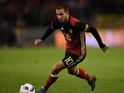 during the intermational friendly match between Belgium and Italy at King Baudouin Stadium on November 13, 2015 in Brussels, Belgium.
