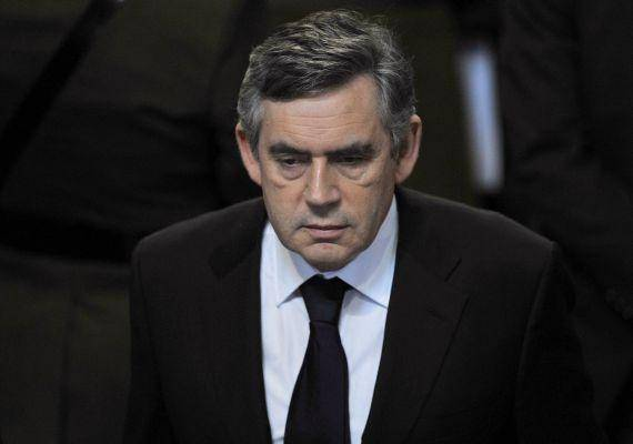 Ślepy Gordon Brown?