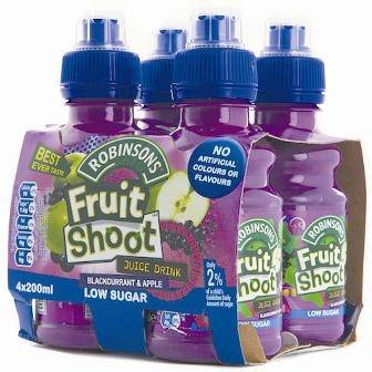 """Fruit Shoot"" bez owoców"