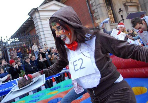 33 Great Christmas Pudding Race