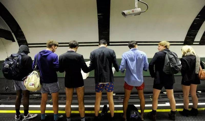 No Pants Tube Ride Day. To już dzisiaj!