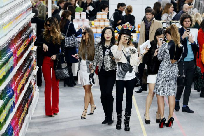 Chanel fashion show 2014
